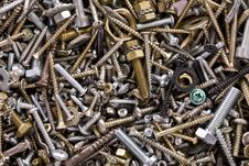 Free Nuts & Bolts Stock Photo - 10277340