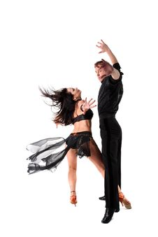 Free Dancers In Action Royalty Free Stock Photography - 10277507