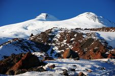 Mountain Elbrus Royalty Free Stock Image
