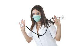 Free Nurse Portrait Royalty Free Stock Photography - 10277747