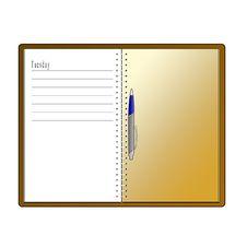 Free Diary Stock Image - 10278261