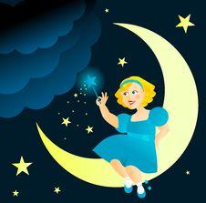 Fairy Girl Royalty Free Stock Photo