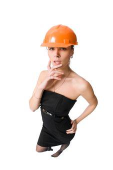 Workwoman Stock Photo