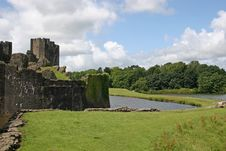 Free Caerphilly Castle Stock Photo - 10278570