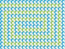 Abstract Labyrinth Pattern Royalty Free Stock Images