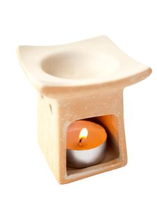 Free Aromalamp With Candle. Stock Image - 10279001