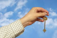 Free Holding A Key Stock Images - 10279264