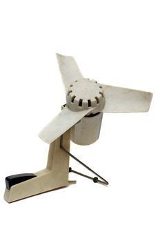 Free The Out-of-date White Fan Stock Image - 10279431