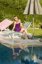 Free Poolside Stock Image - 10280821