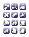 Free Internet Icons Set Stock Photo - 10285600