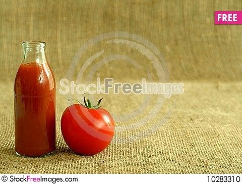 Free Tomato And Juice Stock Photo - 10283310