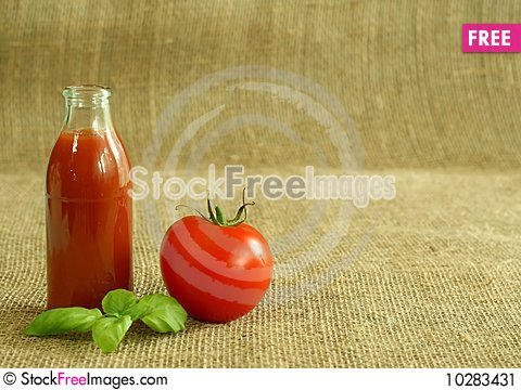 Free Tomato And Juice Stock Image - 10283431