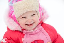 Free Child In Winter Stock Images - 10280514