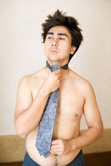 Free Portrait In Necktie Royalty Free Stock Photography - 10280827