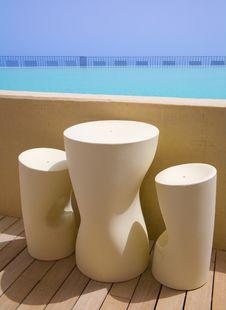 Swimming Pool Bar Stock Image