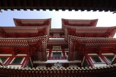The Buddha Tooth Relic Temple And Museum Situated Stock Photo