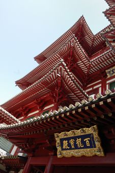 The Buddha Tooth Relic Temple And Museum Situated Royalty Free Stock Images