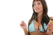 Free Beautiful Sexy Girl In Bikini Royalty Free Stock Photo - 10281675