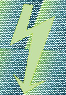 Free Green Arrow Royalty Free Stock Photo - 10281835