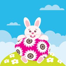 Free Easter Rabbit Royalty Free Stock Photos - 10283088