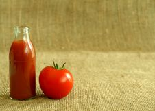 Free Tomato And Juice Stock Photo - 10283310