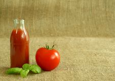 Tomato And Juice Stock Image