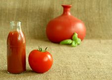 Free Tomato And Juice Stock Photography - 10283432