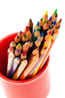 Free Beautiful Color Pencils Stock Images - 10283584