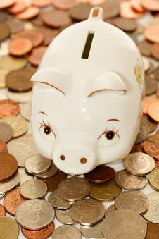 Free Piggy Bank Royalty Free Stock Image - 10283836