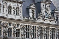 Free Paris The Beautiful Hotel De Ville Royalty Free Stock Photo - 10283925