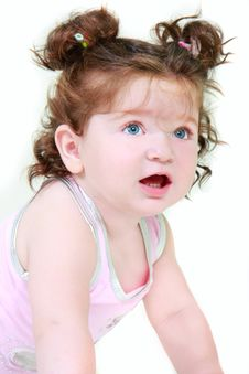 Free Cute Toddler Girl Royalty Free Stock Photos - 10284138