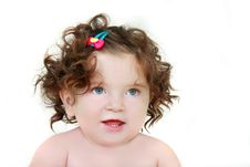 Free Cute Toddler Girl Stock Image - 10284181