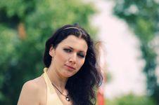 Free Blue-eyed Girl Stock Photo - 10284340