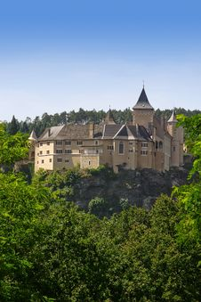 Free Ancient Castle On Rock Royalty Free Stock Image - 10284756