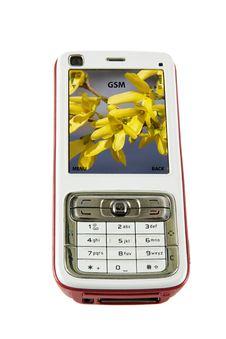 Free Cellular Phone Isolated Stock Image - 10284761