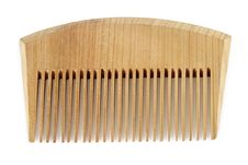 Wooden Comb Royalty Free Stock Photography