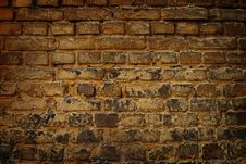 Free Old Brick Wall Background Stock Photo - 10284880