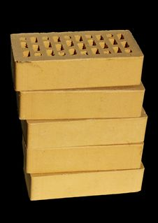 Yellow Clinker Bricks Royalty Free Stock Image