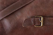Free Leather With Buckles Background Stock Photos - 10284993