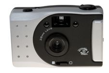 Old Style Film Camera Stock Photo