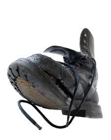 Free Worn Through Boot Stock Image - 10285361