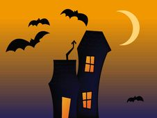 Free THe Haunted House Royalty Free Stock Photos - 10285398