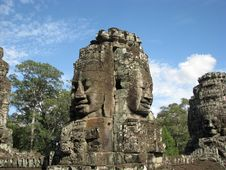 Free Bayon 10 Royalty Free Stock Photo - 10285675
