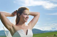 Free Bride Outdoor Royalty Free Stock Photo - 10285765