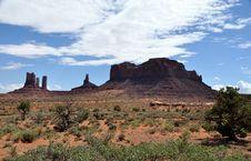Free Monument Valley Stock Photo - 10285950
