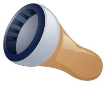 Free Flashlight Royalty Free Stock Images - 10286269