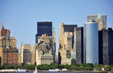 Free New York City Skyline Royalty Free Stock Photography - 10286587