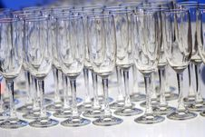 Free Glasses For Champagne Stock Photo - 10288190