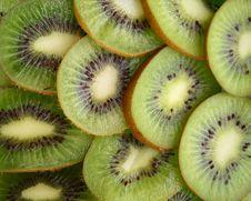 Kiwi Fruit And Oranges Royalty Free Stock Image