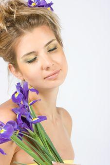 Close-up Of Fresh Face Stock Photos